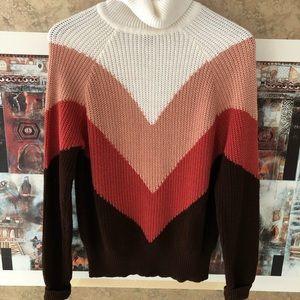 Forever 21 Long Sleeve Turtleneck Sweater Size Med
